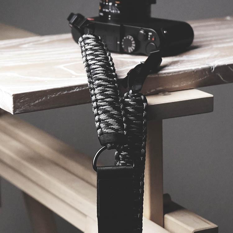 Sangle d'épaule en cuir véritable fait main pour Canon Nikon FUJI Fujifilm Leica Pentax