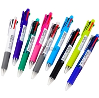 Zebra B4SA1 Clip On 4 Color 0 7 Mm Ballpoint Pens Black Blue Red Green 0