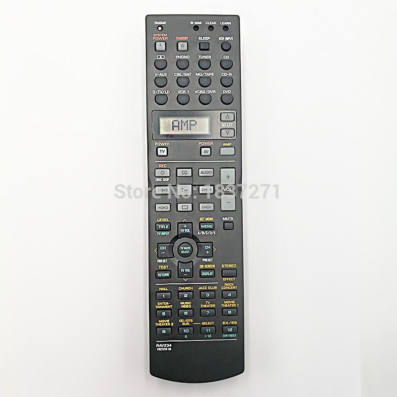 Original Remote Control RAV234 v927210 for Yamaha RX-V740 DSP-AX1300 DSP-AX740 HTR-5590 RX-V1200 RX-V730AV Receiver universal remote control suitable for yamaha rav22 wg70720 home theater amplifier cd dvd rx v350 rx v357 rx v359 htr5830