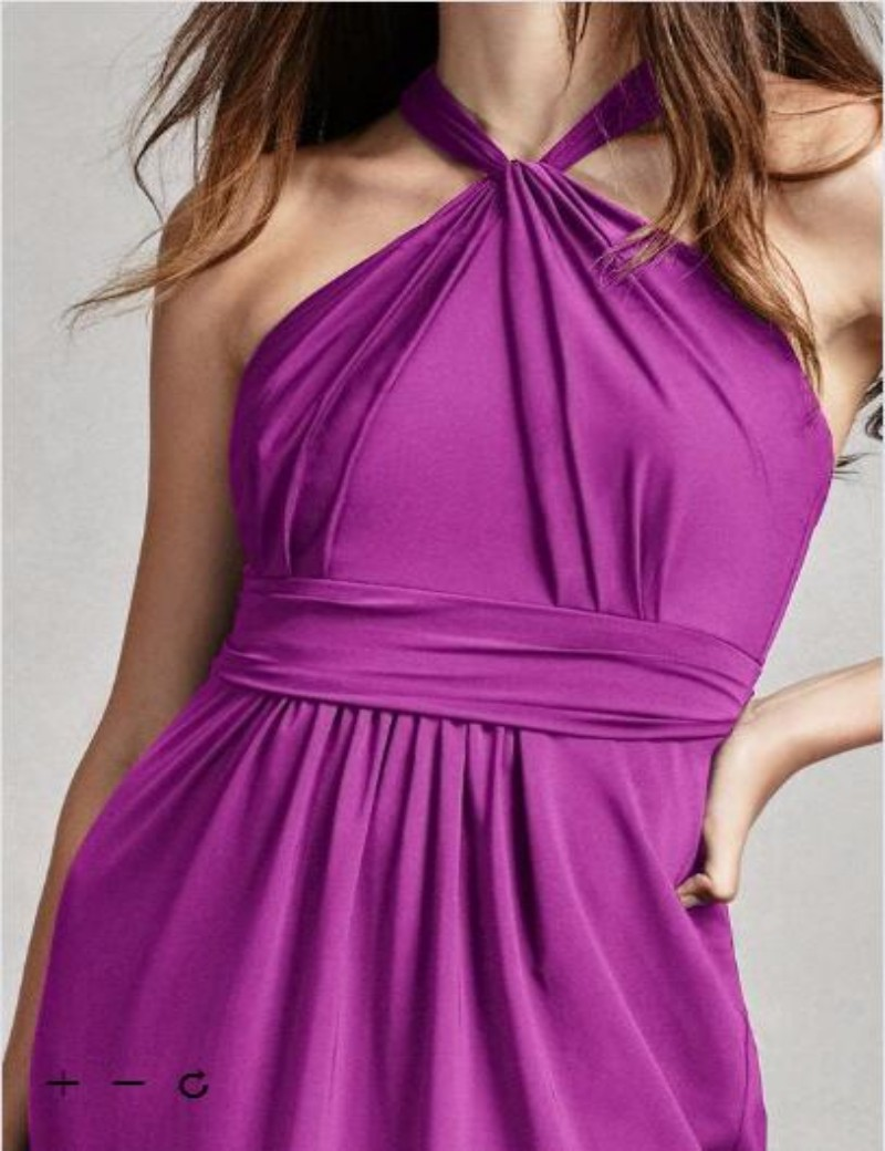 Vistoso Vestido De La Dama De Honor Acanalada Ilustración - Ideas de ...