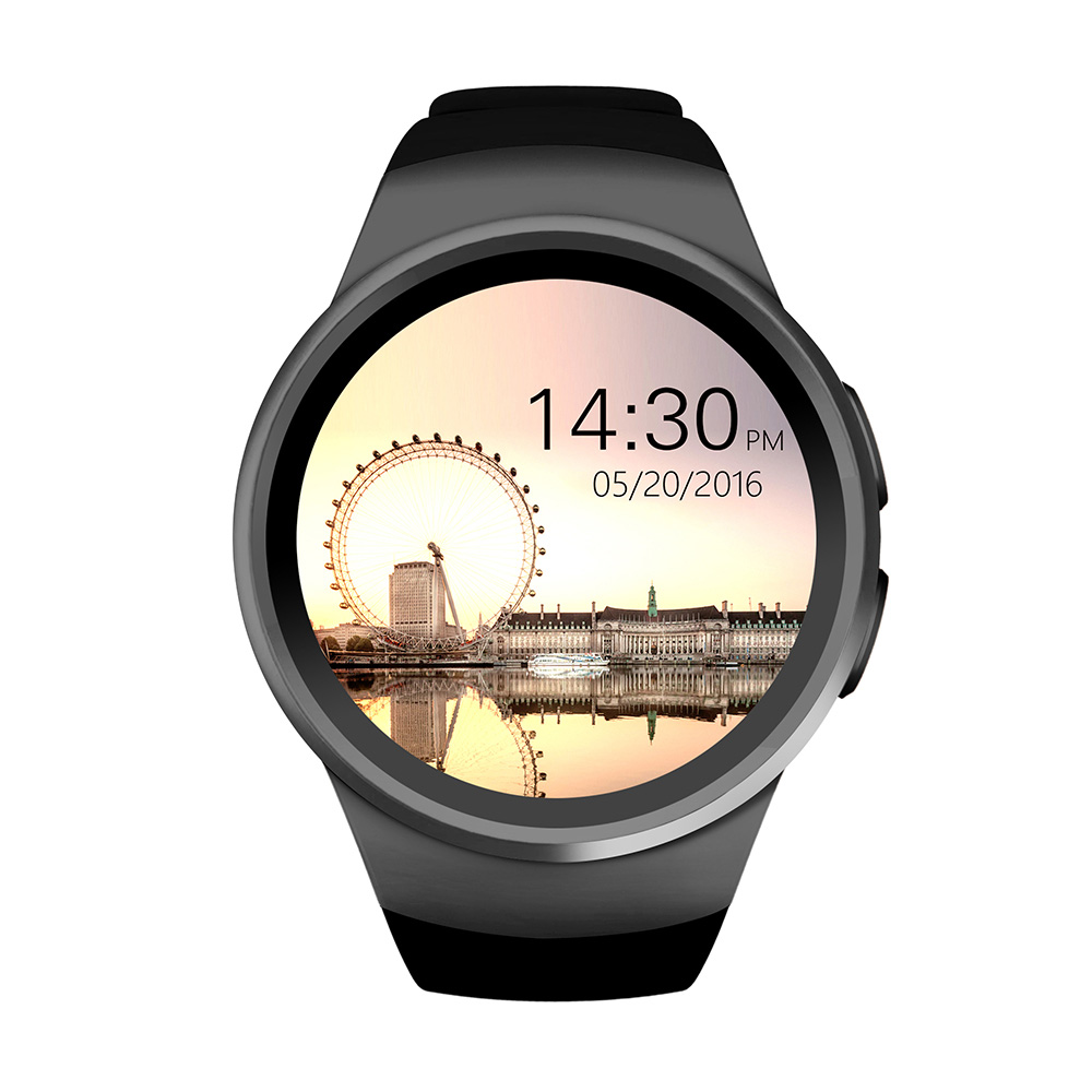 KW18 Bluetooth SmartWatch wristband watch full screen support NANO SIM card smart watch IOS Android heart rate watch