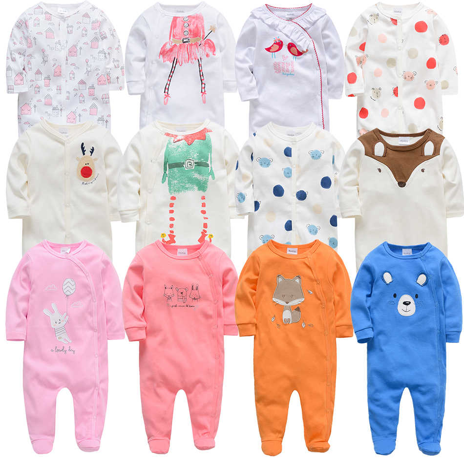 f9c429c19d6 Kavkas Baby Girl Rompers Long Sleeve Infant Boy Autumn Winter Jumpsuits 3 6  9 12M Newborn