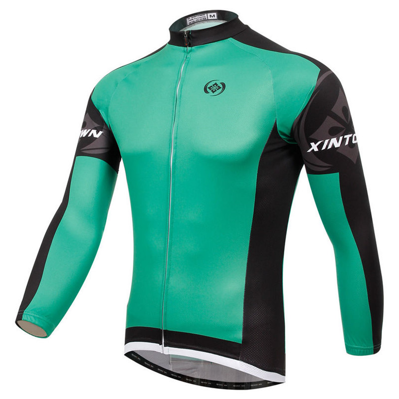 Xintown Men Long Sleeve Bike Cycling Jersey Winter mtb Bicycle Cycling Clothing ropa ciclismo invierno Riding Bike Jersey Jacket
