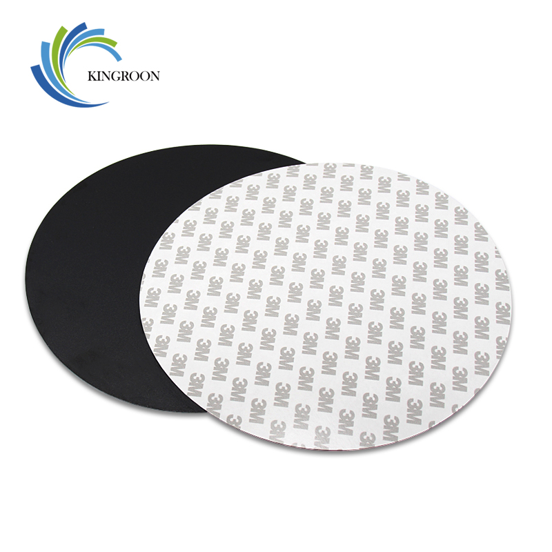 KINGROON 1PC Round Protect Printing Platform Sticker 200x200/220x220mm Tape 3D Printer Heated Bed Parts Reusable Film Heat Paper
