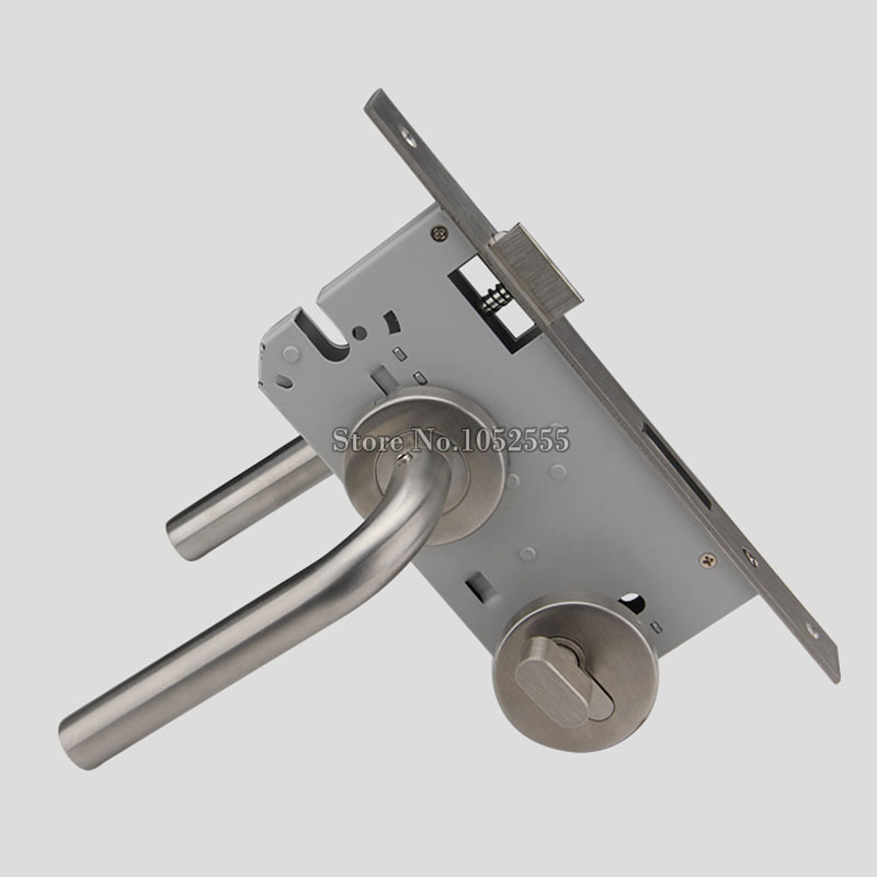 304 Stainless Steel Tube Wells Lock Hospital/Shopping/Public Entrance/Passage Fire Door Handle Lock Security Escape Lever Lock 304 stainless steel tube wells lock hospital shopping public entrance passage fire door handle lock security escape lever lock