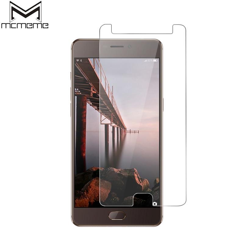 MCMEME Para Elephone P8 9 H 2.5D Ultra-fino de Vidro Temperado à prova de Explosão-Película Protetora Para Elephone P8 protetor de tela de Vidro