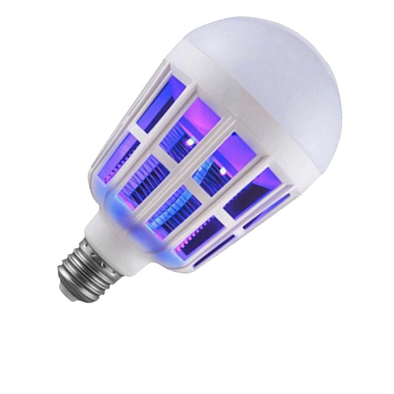 Mosquito Killer Lamp 2 in 1 E27 LED Bulb Electric Trap Mosqus