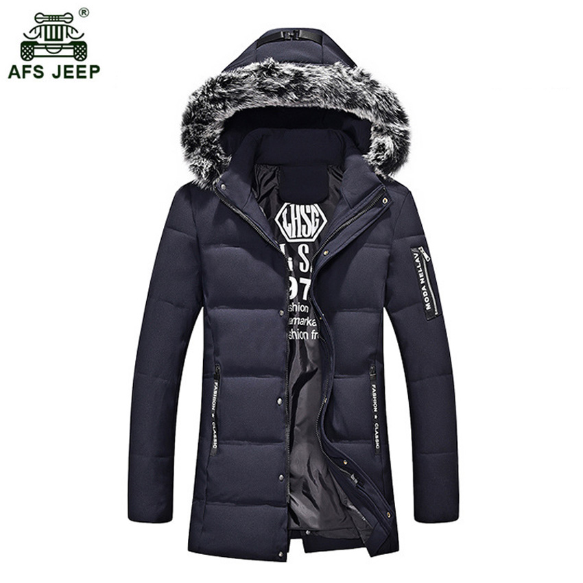High Quality Parka Men Winter Long Jacket Men Thick Cotton-Padded Jacket Men's Parka Coat Male Fashion Casual Coats 160wy hot sale clothing 2016 newest men parka winter jacket fashion quality padded stand collar single breasted short coat for male
