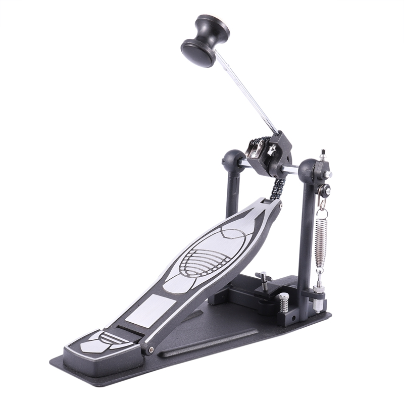 Advanced Rack Bass Hammer Drum Pedal Set With Drum Beater Single Chain Drive Kit For Drummer Single Step Hammer Accessories
