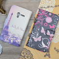 JR For Alcatel One Touch Pixi 3 4.5 inch 4027X 4027D 4028A 4028E Case PU Leather Flip Cover Wallet Stand Phone Bag