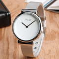 Trendy Women Wrist Watch Modern Steel Mesh Quartz-watch Women Simple Elegant White Dial Watches Casual Clock