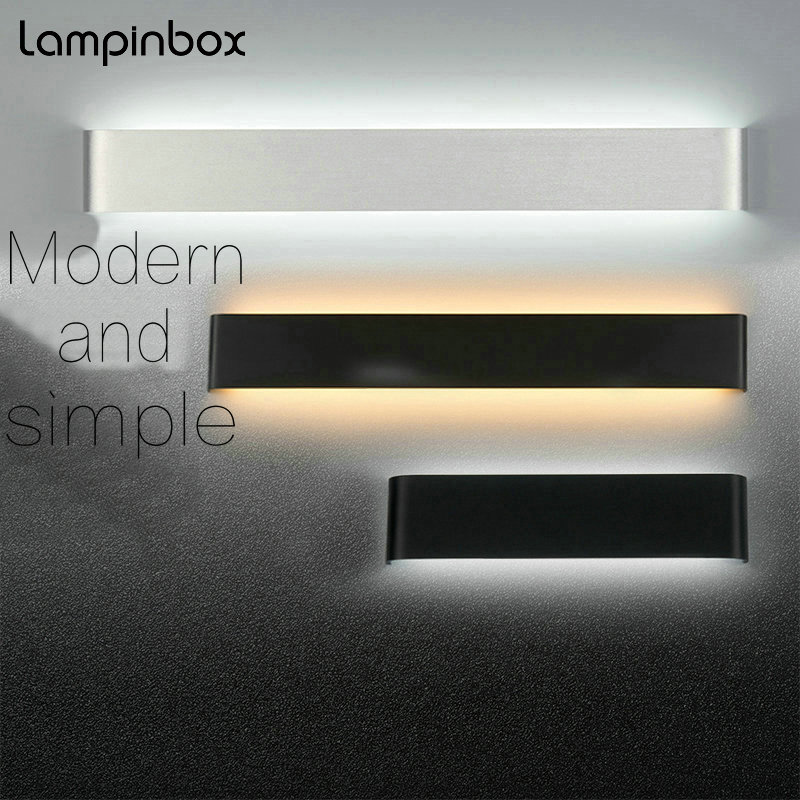 Modern Minimalist LED Aluminum Wall Lamp Living Room Bedroom Bedside Lamp Aisle Creative Wall Lamp Bathroom Mirror Lights modern minimalist 9w led acrylic circular wall lights white living room bedroom bedside aisle creative ceiling lamp