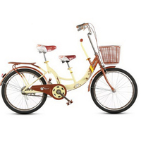 230610/Women's Bicycle / 24 inch child parent child bike / mother and child with baby double men and women light cycling