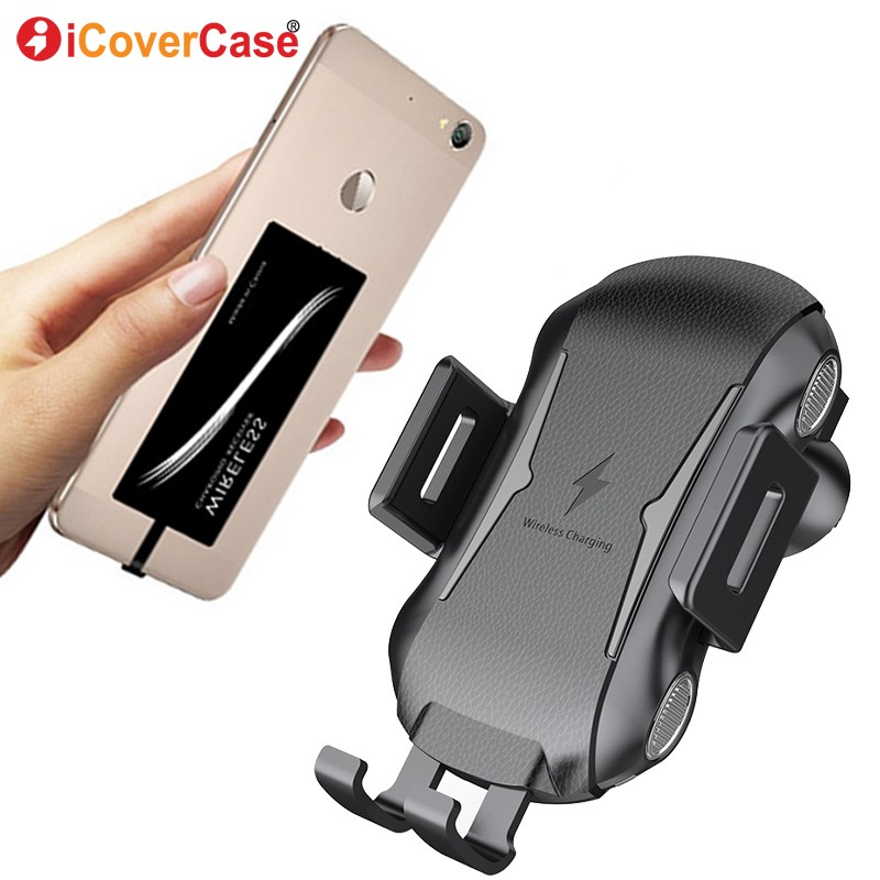 For <font><b>Samsung</b></font> <font><b>Galaxy</b></font> A6 A6 + <font><b>A8</b></font> Plus 2018 A9 Star A3 A5 A7 2017 2016 Wireless <font><b>Charger</b></font> Charging Pad Qi Receiver Car Phone Holder image