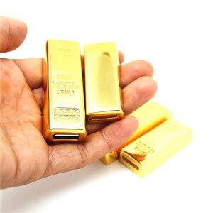 Image 5 - Metall Gold bars/ziegel modell USB Stick Bullion stift memory stick usb Stick 4GB/8GB/16GB/32GB/64GB U disk thumb drive