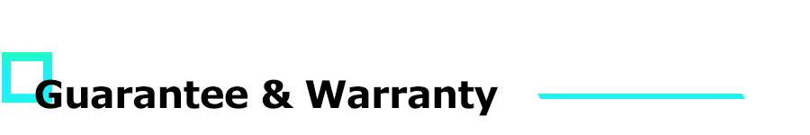 ING-Guarantee & Warranty