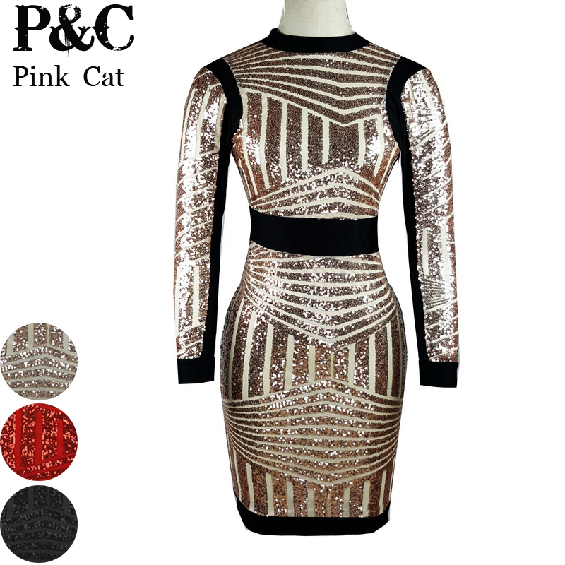 Compare Prices on Gold Sequin Bandage Dress- Online Shopping/Buy ...