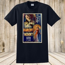 THE MUMMY 1932 FANTASY HORROR VINTAGE MOVIE POSTER ART T-Shirt NEW(China)