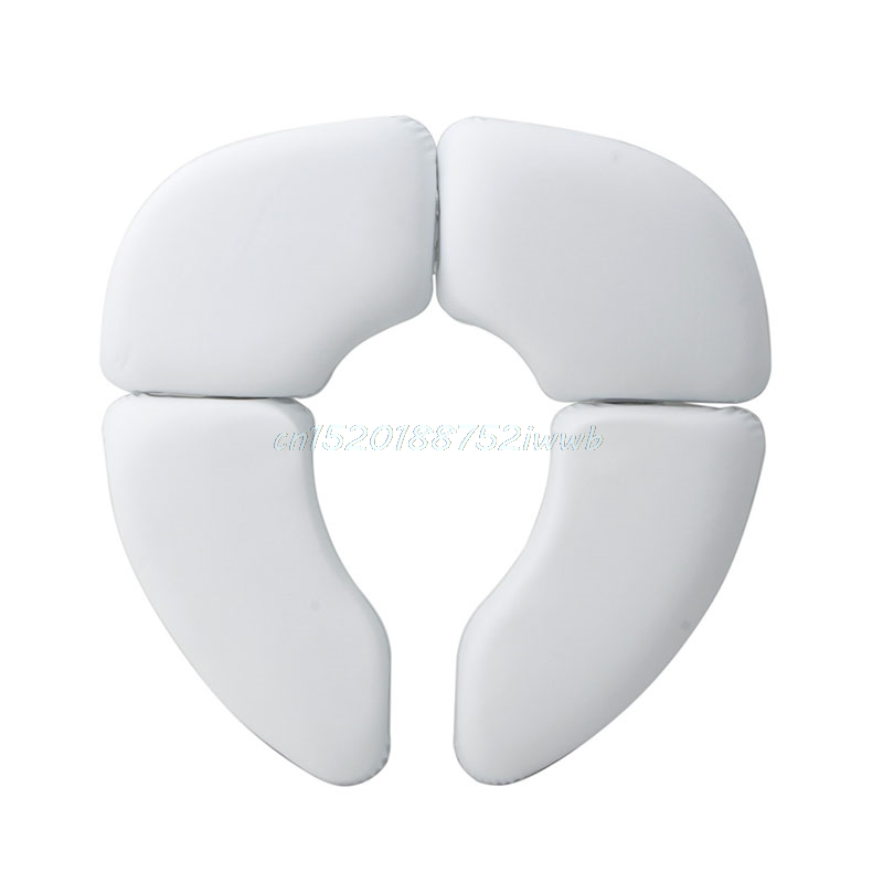 Fashion Household Baby Kids Toddler Soft Toilet Seat Cover Folding Padded Potty Cushion Toilet Seat Training
