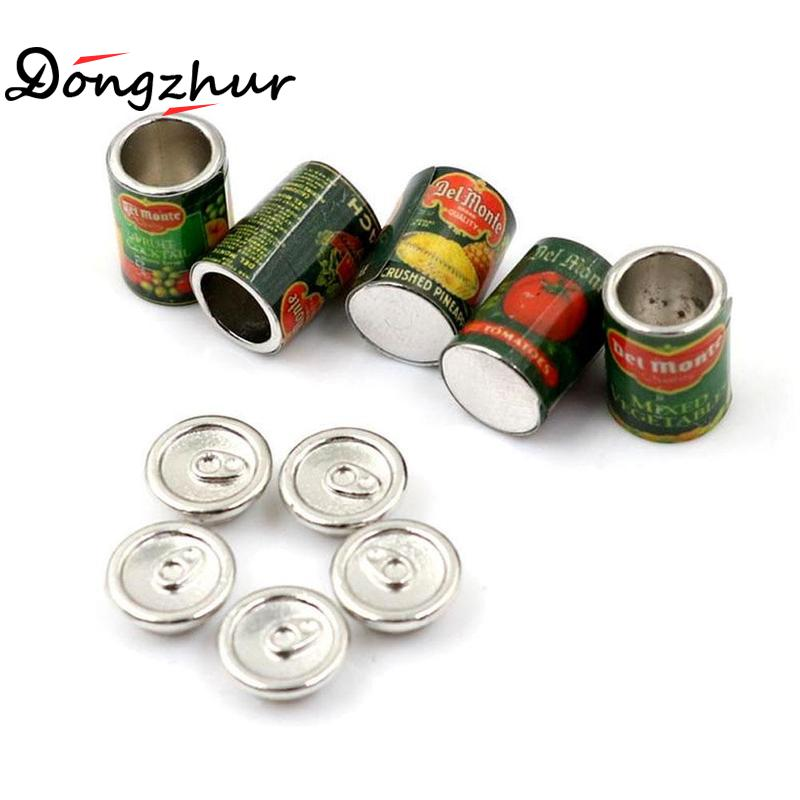 Dongzhur 5pc/set Preserved Miniature 1:12 DollHouse Mini Canned Fruit 5 Cans Miniature Play Fast Food Toy Dollhouse AccessoriesDongzhur 5pc/set Preserved Miniature 1:12 DollHouse Mini Canned Fruit 5 Cans Miniature Play Fast Food Toy Dollhouse Accessories