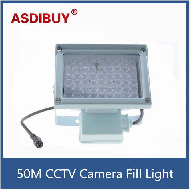 54pcs Strong LED Auxiliary Lighting for Surveillance CCTV Camera 50m Infrared LED cctv fill light cctv