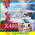 MJX X400 Quadcopter RC com Câmera FPV iPhone Android Wi-fi Remoto Avion controle Helicóptero UFO Zangão GPS 4CH RTF VS H107D H9D