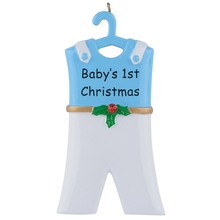 Baby's 1st Resin Hang Girl Skirt Personalized Christmas Ornaments As Craft Souvenir For Gifts or Home Decor lollipop family of 5 resin hang christmas ornaments with glossy baby face as craft souvenir for personalized gifts or home decor