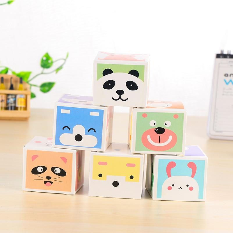 Kawaii Paper Sticky Memo Pad Leuke notitieblok Post Note Bookmark - Notitieblokken en schrijfblokken bedrukken - Foto 1