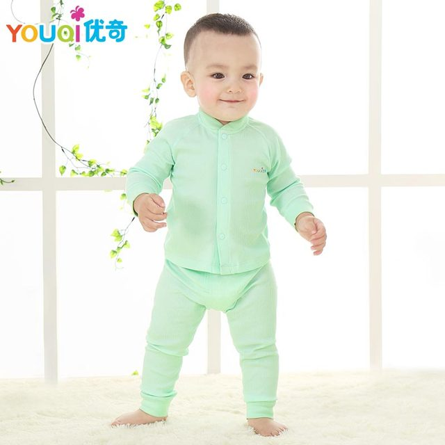 1d73d4aafc08 YOUQI Baby Clothes Elastic Baby Boys Girls Spring Autumn Cotton 3 6 9 18  Months Clothing Set Tollder Infant T-shirt Pants Suits