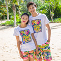 2016 beach summer seaside honeymoon couples men and women quick dry male and female board shorts