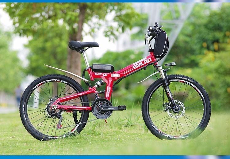 HTB1vk La8Gw3KVjSZFwq6zQ2FXaU - Inch Folding Electrical Bicycle Electrical Bicycle 48 V Lithium Battery Off Street Mountain Bike 500w Motor Drive Electrical Bicycle