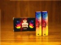 Top USA Apocalypse 18650 battery IMR 4.2V 4000mah 100A Rainbow color rechargeable li lon Vape Electronic cigarette power battery