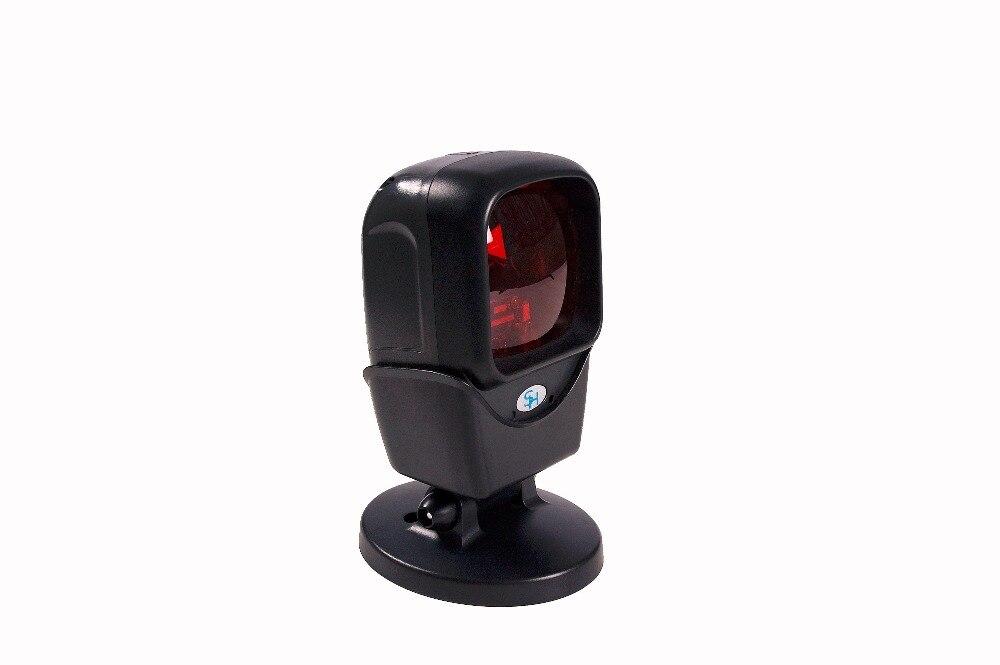 Ominidirectional сканера штриховых кодов USB Автоматический Лазерный настольный сканер с USB Host Интерфейс и 2 м кабель 5 в постоянного тока, 20-линия, чер...