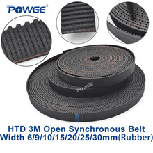 5Meters Rubber 3M Timing Belt 3M-9mm width 9mm with fiberglass core HTD3M Open ended Timing belt 3M pulley Free Shipping free shipping classical wrapped v belt b3505 b3556 b3607 b3658 b3708 li industry black rubber b type vee v belt