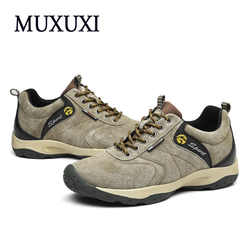 High quality Genuine Leather Men Casual Shoes Men Outdoor Handmade Oxford  Men Shoes Walking Flats Shoes Outdoor Climbing Shoes male casual shoes soft footwear classic men working shoes flats good quality outdoor walking shoes aa20135