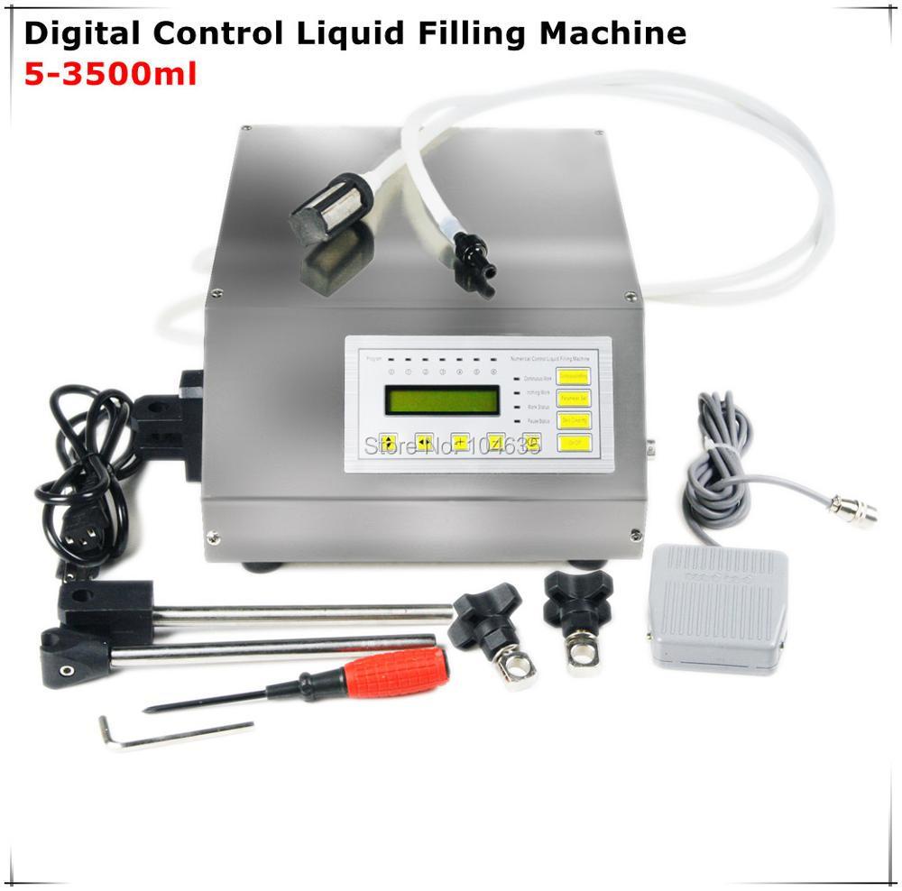 купить Digital Control Pump Drink Water Liquid Filling Machine GFK-160 5-3500ml по цене 6051.78 рублей
