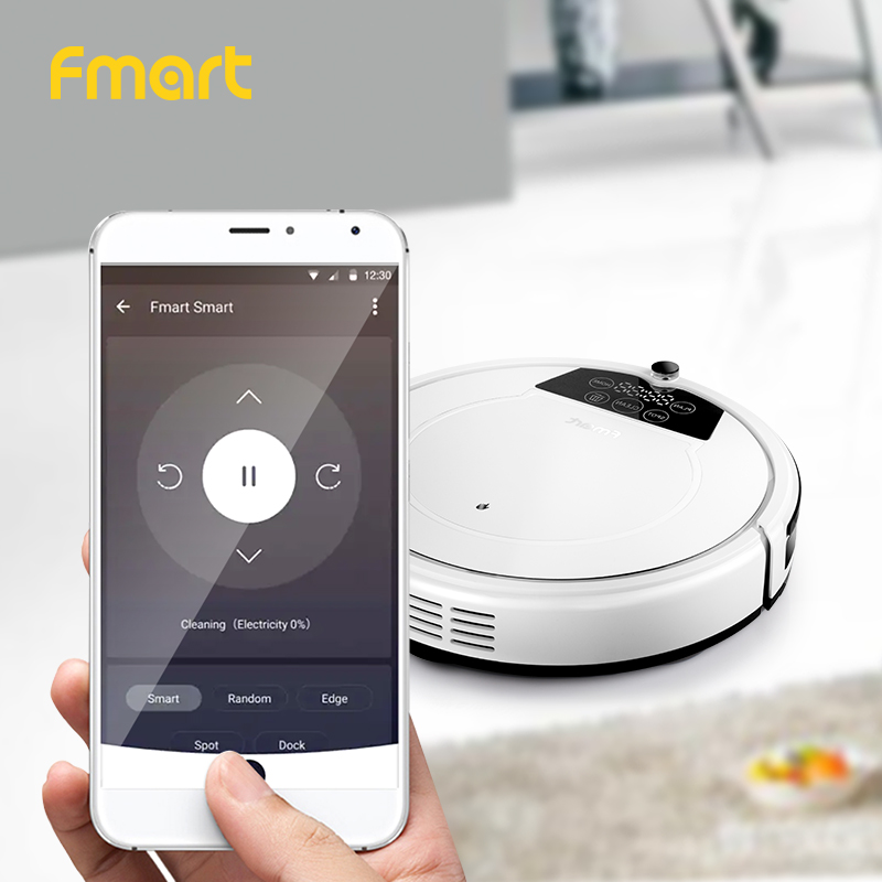 Robot Vacuum Cleaner E R550W S WIFI Control Home Automatic Sweeping Dust Sterilize Smart Planned Self