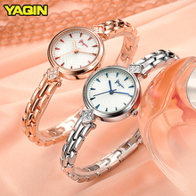лучшая цена 2018 Fashion Rhinestones Women's Quartz Wristwatches Ladies Diamond Luxury Brand Bracelet Watch Rose Gold Relogio Feminino