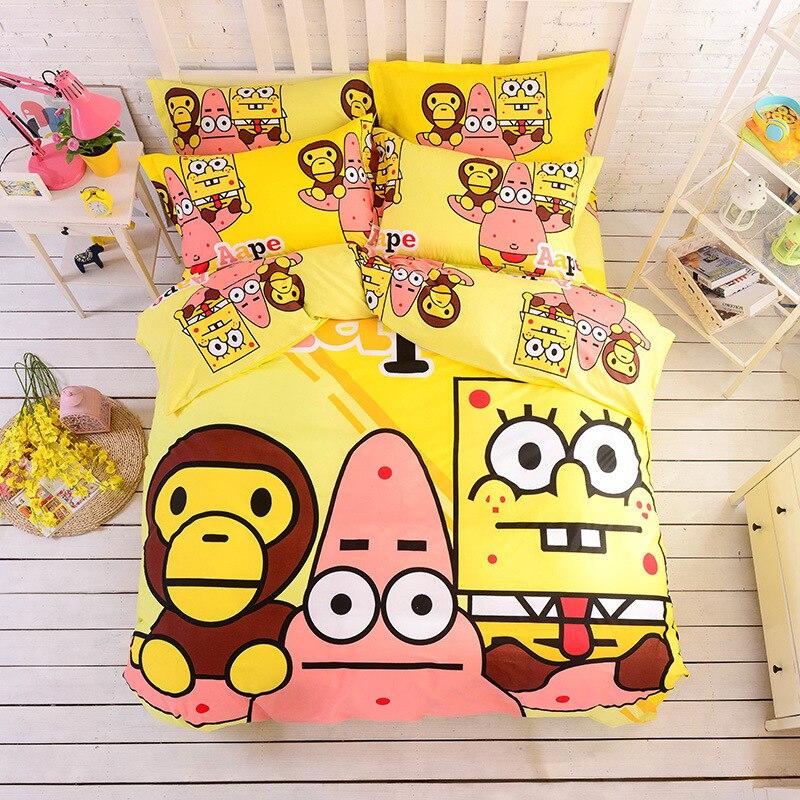 Spongebob Twin Bed Set