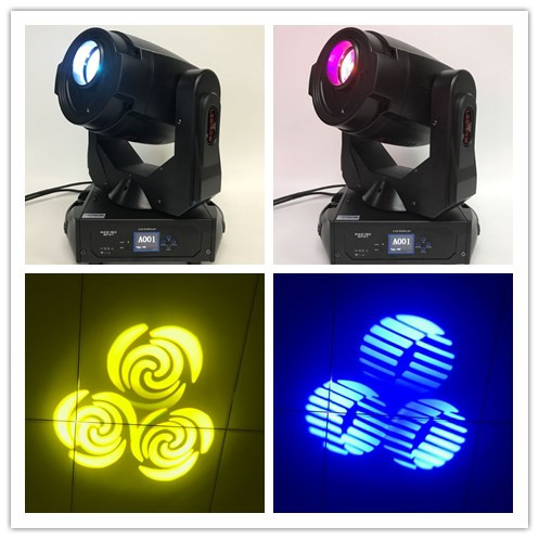 A- Motorized auto focus 180W LED Moving Head SPOT Stage Light Disco Wedding Party DJ