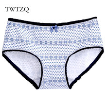 51866bf8dc1c TWTZQ Women Panties Sexy Cotton Underwear Cute Rabbit Printed Intimate  Briefs Breathable Underpants Female Tanga A3NK058