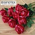 10 Pcs/Lot Wedding Decoration Rose Artificial Flowers Romantic Date /Party Sending Roses Silk Flower Bouquet