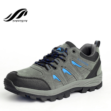 2016 autumn&winter hiking shoes waterproof men shoes authentic quality trekking shoes cheap climbing shoes
