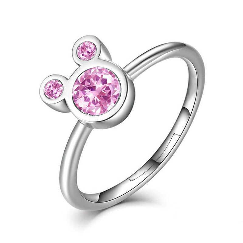 2019 แฟชั่นสานคริสตัลแหวนทอง/เงิน/Rose Gold สี Fine หญิงแหวน Party หมั้นเครื่องประดับขายส่ง