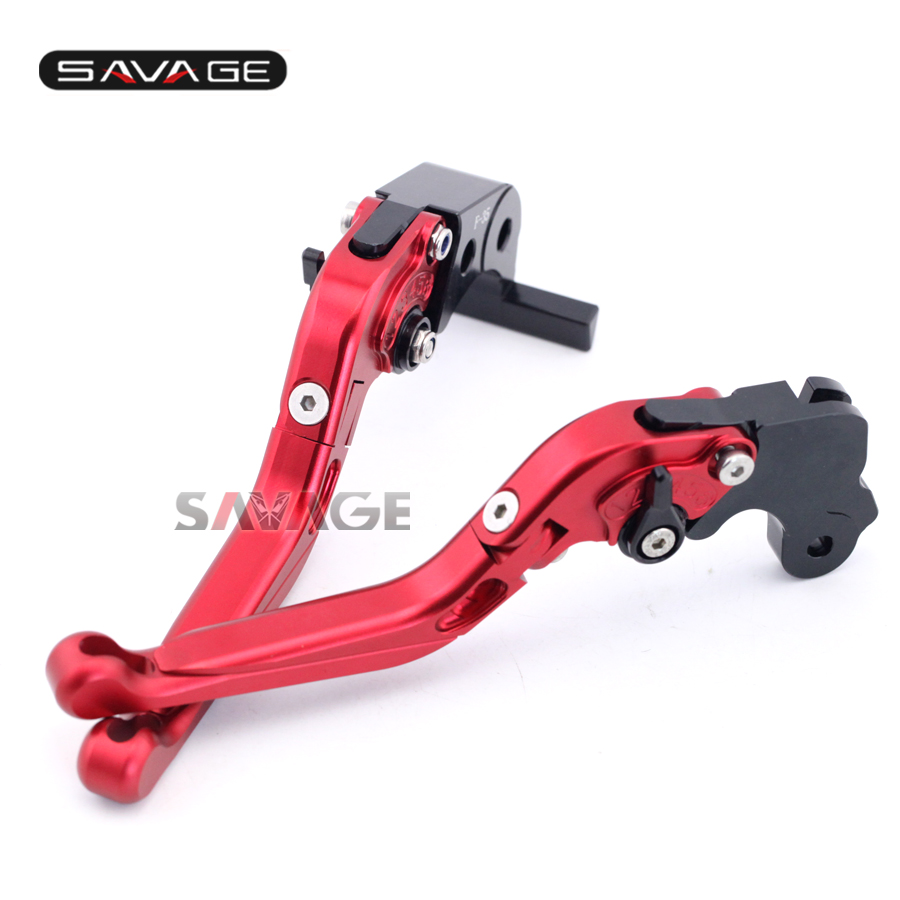 For MV Agusta F3 675 12-16, F3 800/AGO 13-16 Motorcycle Aluminum Adjustable Folding Extendable Brake Clutch Lever Red motorcycle parts killer ybr125s days ago brake drum cover