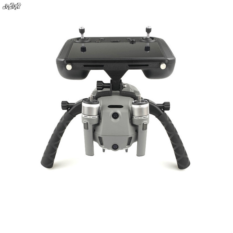 Mavic 2 Remote Control With Screen Bracket Drone Handheld Stabilizer Landing Photography Holder For DJI Mavic 2 Pro Zoom Drone