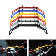 CNC Aluminum Motorcycle Mutifunctional Cross Bar Balance bar for KYMCO XCITING 250 300 400 400S 500 K-XCT NIKITA 200