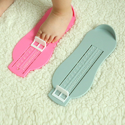 Baby Shoes Foot Measuring Device Newborn Foot Length Ruler Kid Infant Foot Measure Gauge Shoes Size Tool Toddler Fittings Gauge