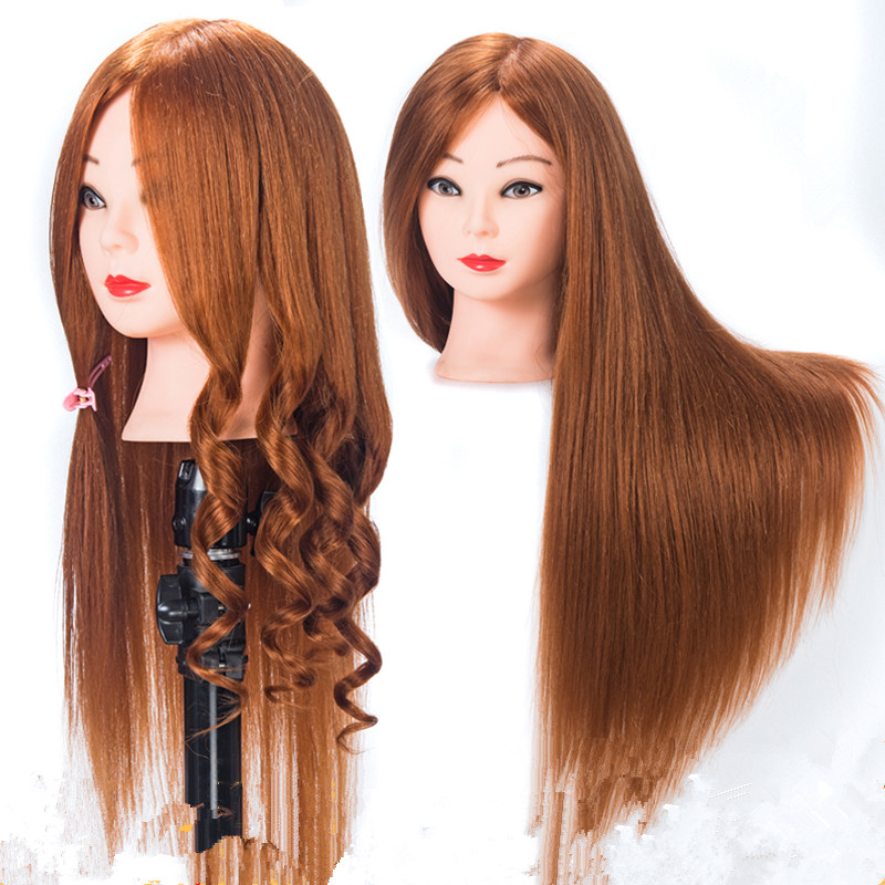 golden hair  22 Training Female Mannequin Head With Makeup 100% Human Hair r Hairdressing cutting training Mannequin doll headgolden hair  22 Training Female Mannequin Head With Makeup 100% Human Hair r Hairdressing cutting training Mannequin doll head