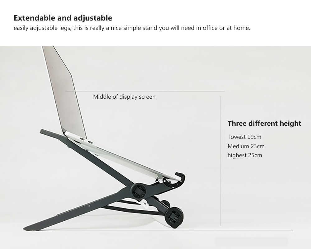 K1 Draagbare Stand Verstelbare Opvouwbare Houder Ondersteuning Beugel Laptop Stand voor Laptop Notebook Tablet Houder PC Gaming Pad